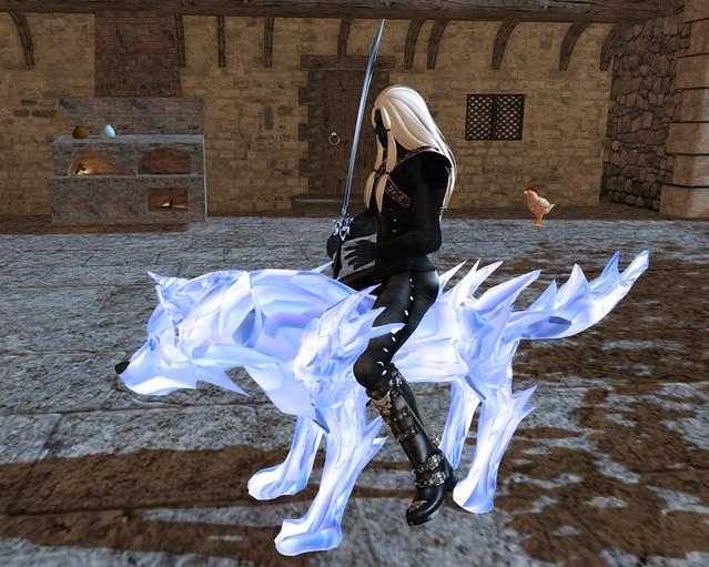 Solarium Cold Crystal Wolf Spirit HUD
