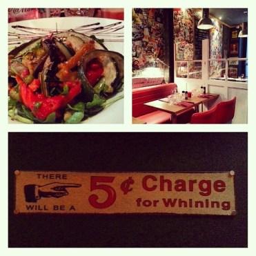 Excellent dinner at Le Club Des 5. #Paris #Batignolles