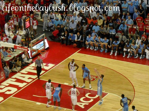 Tarheels free throw