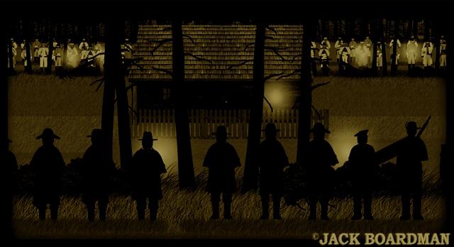 Night siege ©2012 Jack Boardman