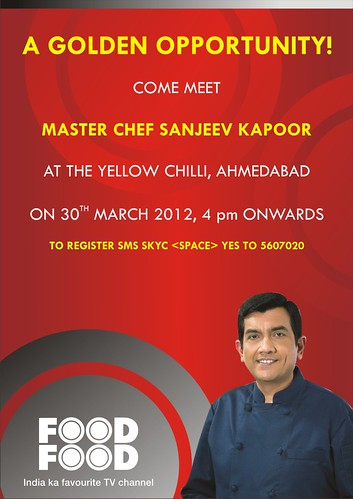 FoodFood Event by Chef Sanjeev Kapoor