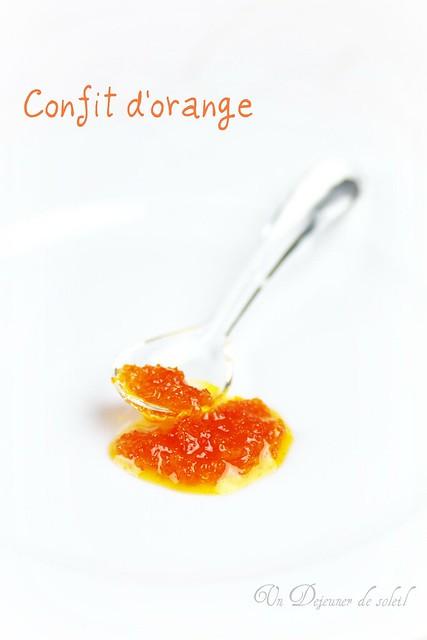 Confit d'orange de Conticini