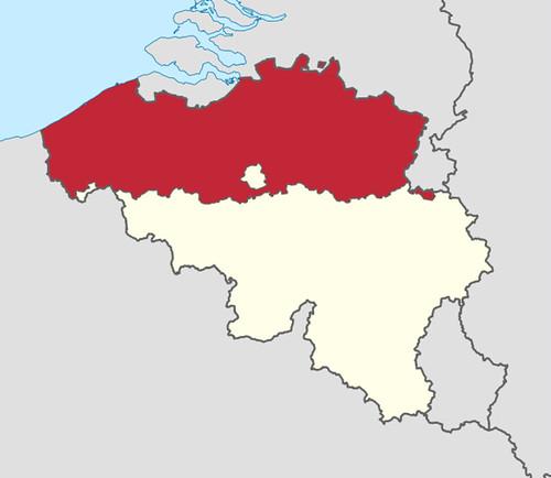 Flemish region in Belgium