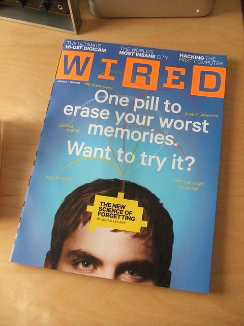 Revista Wired, número de Marzo de 2012