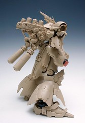 GMG 1-100 Sazabi Formania Version Resin Conversion Kit Complete Final Cast (2)