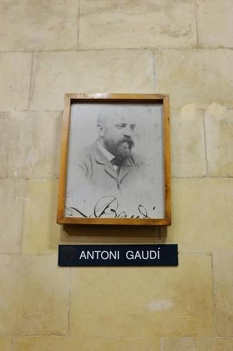 gaudi's portrait