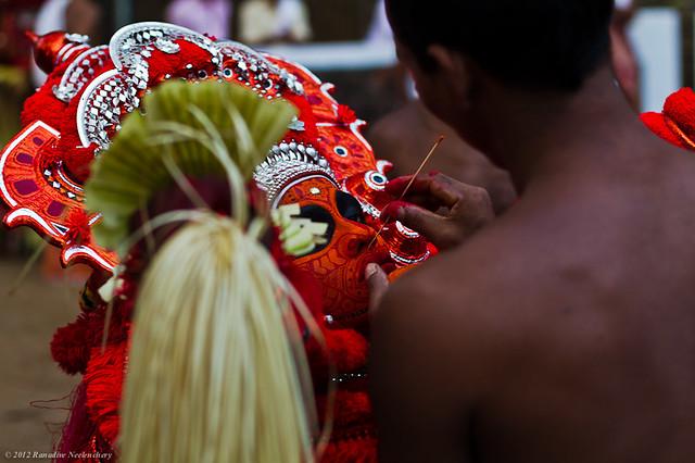 facepainting Session - Vishnu Moorthy