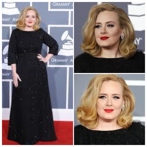 Adele at 2012 Grammy's