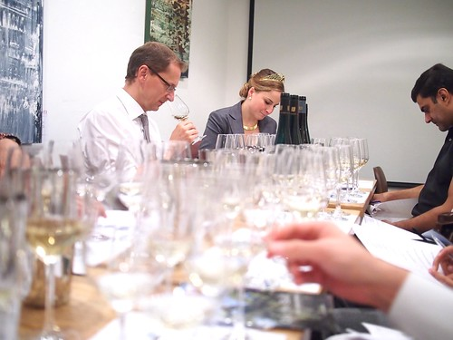 German Riesling Masterclass by German Wine Queen 2012 Annika Strebel, Taberna Wine Bar, Binjai Park