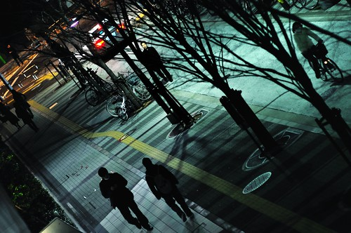 Day 76/366 : Pavement at Night by hidesax