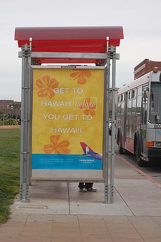 Hawaiian Air ad