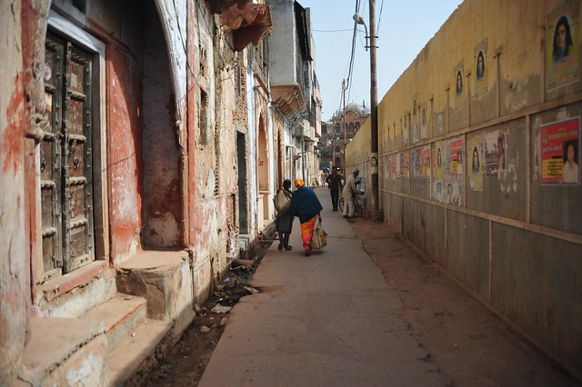 The Brijbhoomi beckons; Typical lanes of Vrindavan