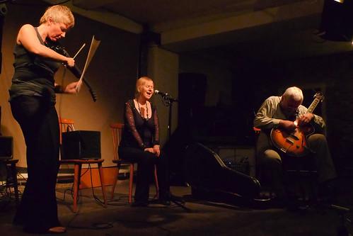Mia Zabelka, Maggie Nichols, John Russell @ Cafe Oto, 12.2.12
