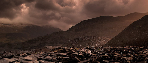 To steal a mountain - Penrhyn Quarry