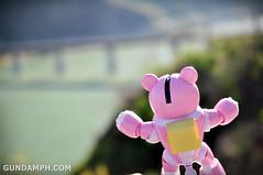 Pink Bearguy at Vigan Bridge