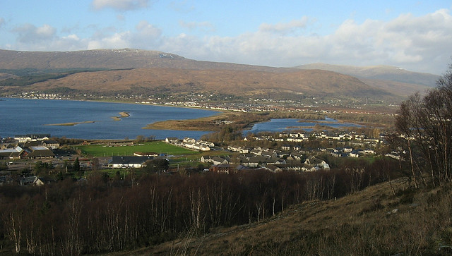 Fort William from Cow Hill