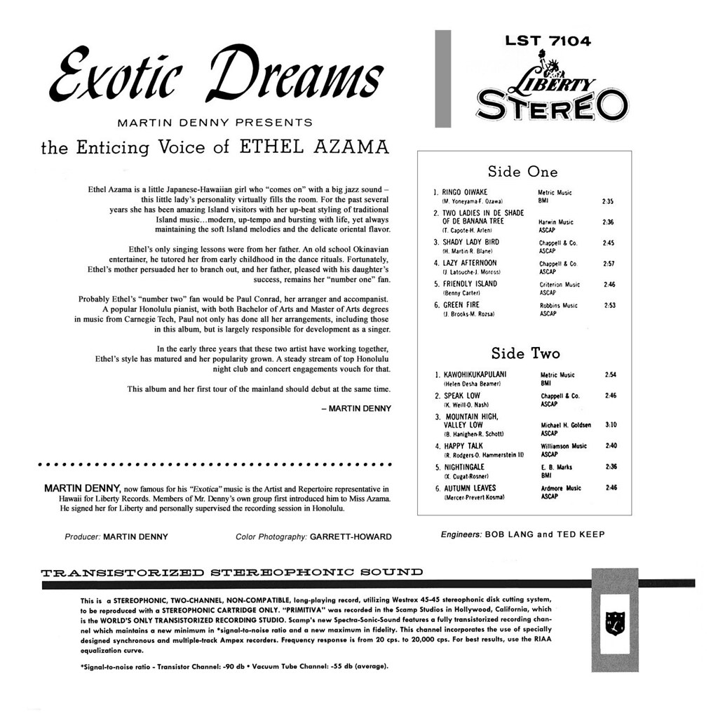Ethel Azama - Exotic Dreams