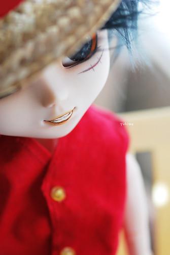 126/366: Happy birthday, Luffy~! :D