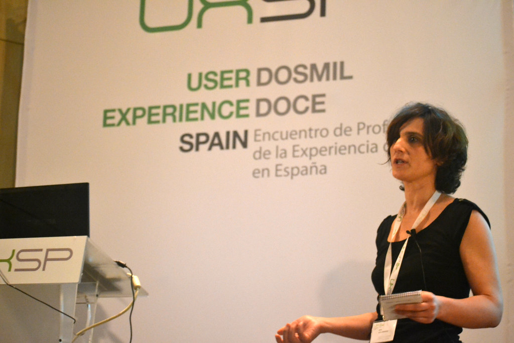 Idoia Soto en el UxSpain