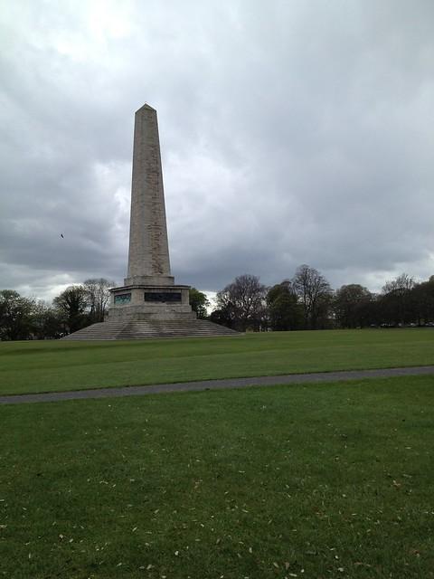 Wellington Monument obelisk, Phoenix Park