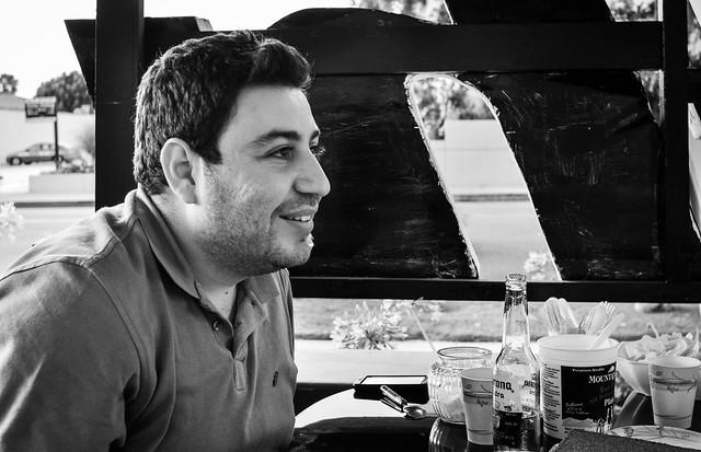 Portrait of an Iranian-Armenian wedding photographer in Glendale