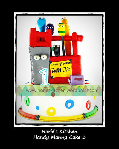 Norie's Kitchen - Handy Manny Cake 3 by Norie's Kitchen