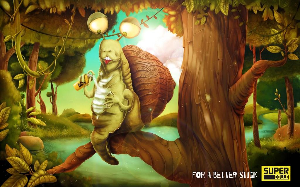 Supercolle - Escargot
