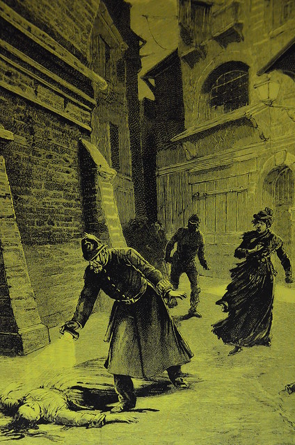 The Whitechapel Murders Police Discover The Corpse Of One