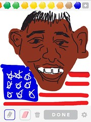 OBAMA, Draw Something App