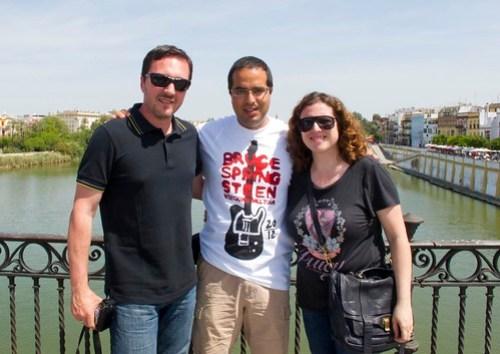 Con Jordi e Itziar
