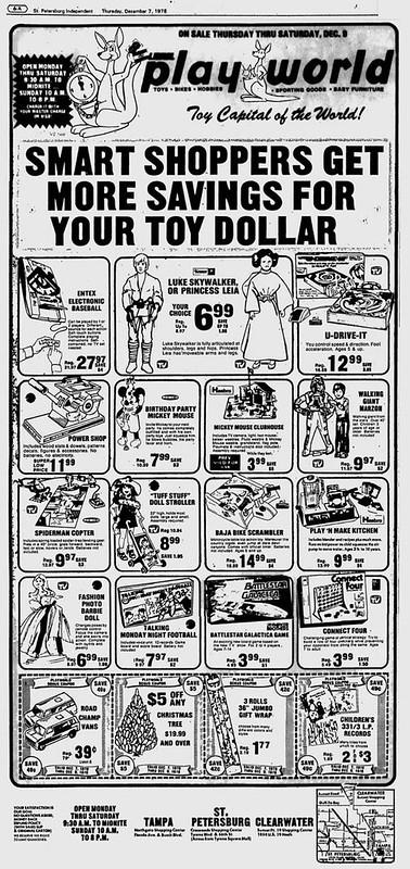 Lionel Playworld - Newspaper Ad