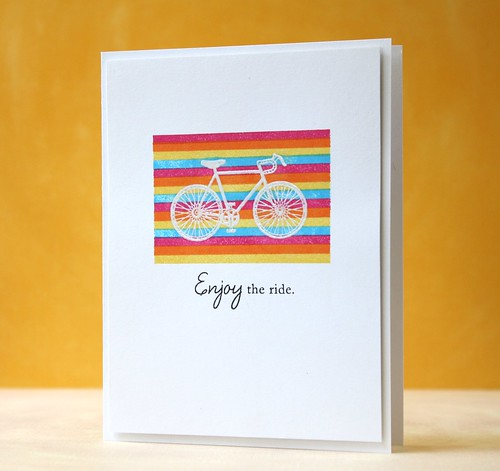 bicycle color trends challenge by L. Bassen
