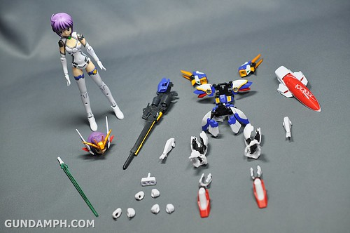 Armor Girls Project MS Girl Wing Gundam (EW Version) Review Unboxing (22)