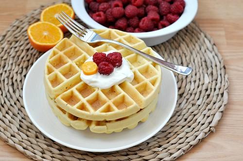Vanilla waffle