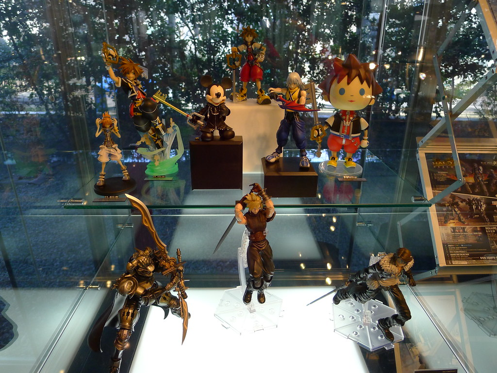 magnetic-rose.net Square Enix Showcase Shinjuku