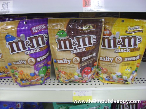 M&M's Sweet & Salty Snack Mix