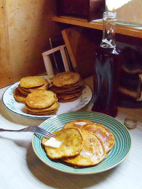 pumpkin pancake tableau