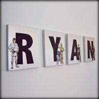 Star Wars Name Wall Art | Flickr - Photo Sharing!