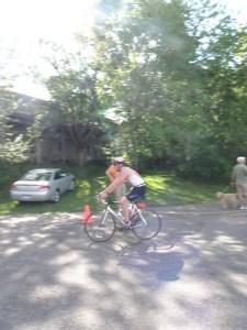 Leaving on the Bike - Buffalo