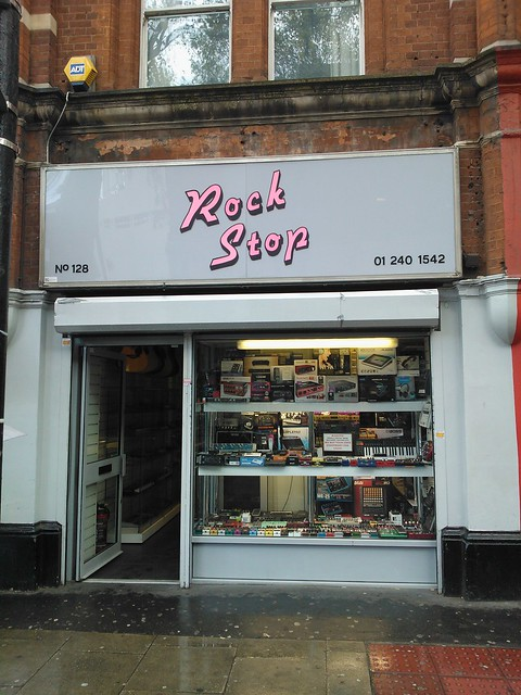 Rock Stop, Charing Cross Road