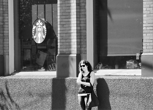Pretty Much Any Street Corner in Seattle