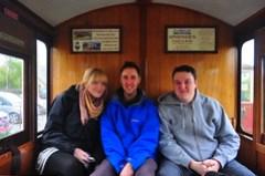 Trio on a Train