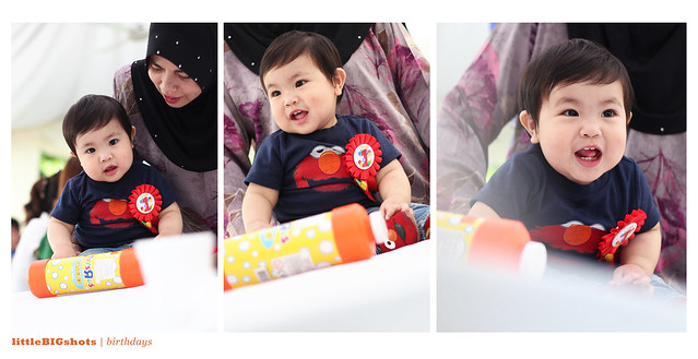 Aiden Tsaqif is ONE!