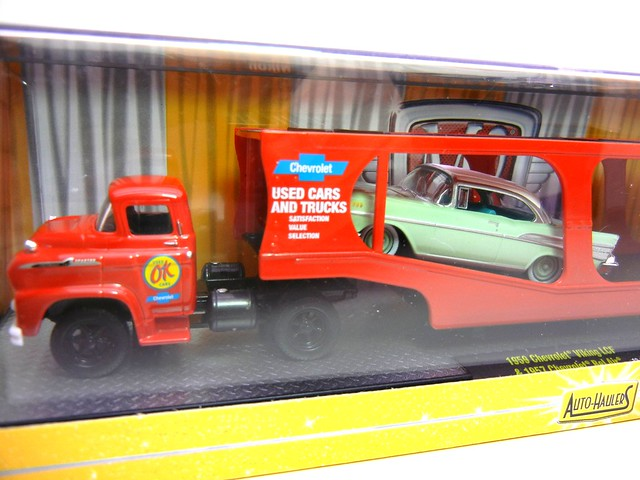m2 machines auto haulers 1959 chevrolet viking lcf 1957 chevrolet bel air (2)