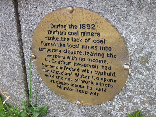 New Marske Ironstone Plaque
