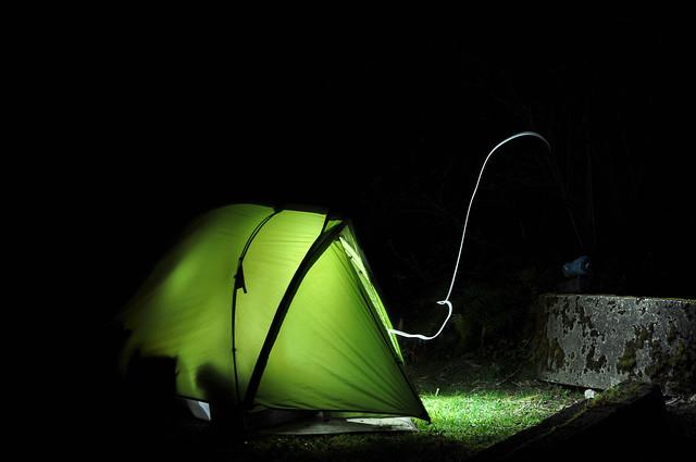 Campground lightshow