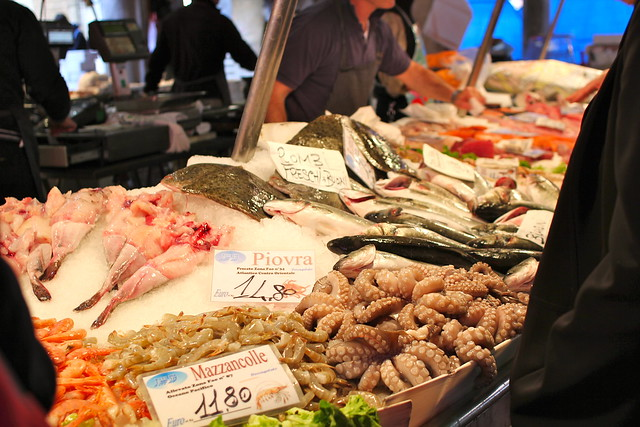 Seafood at Rialto Food Markets