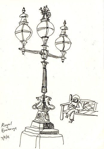 i sketch london: The Royal Exchange