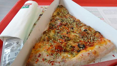 Mushroom Delight Pizza