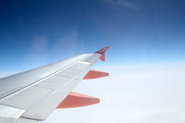 Sunday: Easyjet! Fine for short flights
